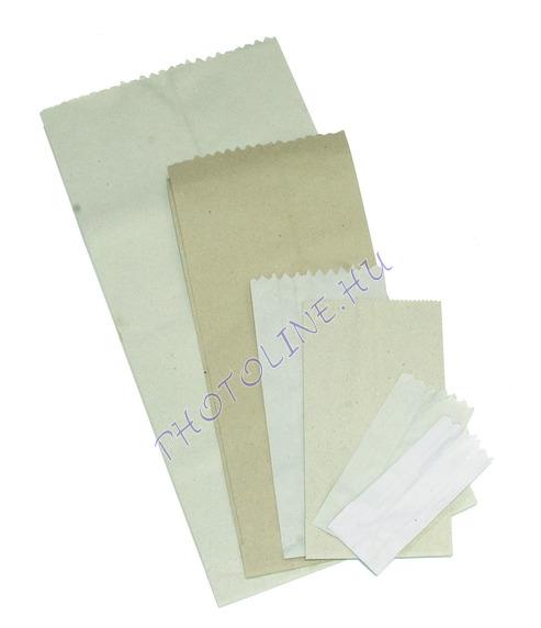 Papírzacskó fehér 1,5kg, 180x360mm+2x62mm, 55 gr/nm (1000db/csomag)