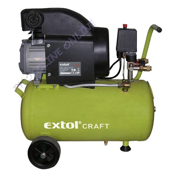 Légkompresszor olajos, 1500W dugattyús (418200)