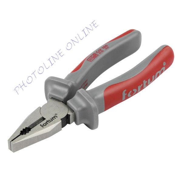 Kombinált fogó, CV., 6150, két komponensű gumi nyél 160mm (4770301)