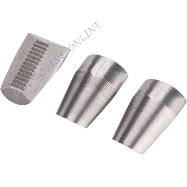 Húzópofa készlet 3db, 13 mm, különféle popszegecshúzókhoz, CrVMo (4770690)