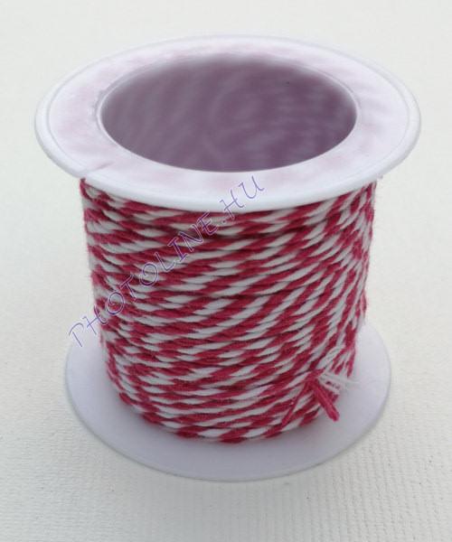 Zsinór középbézs-fehér színben, mérete: 1 mm, 10m/tekercs