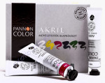 Pannoncolor akrilfesték alap készlet 6*22ml
