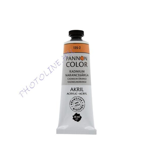 Pannoncolor akrilfesték KADMIUM NARANCS 38ml