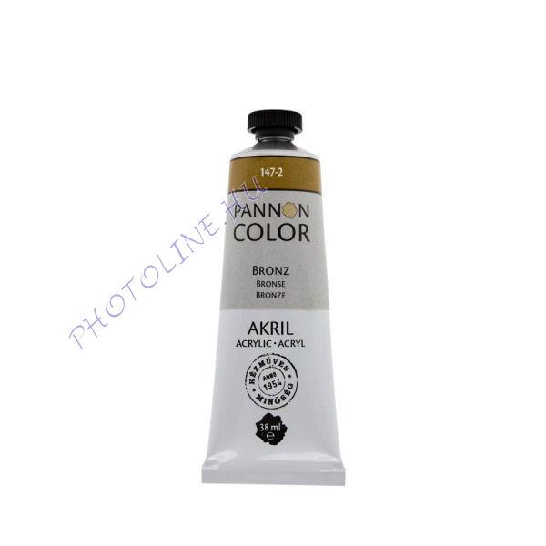 Pannoncolor akrilfesték BRONZ 38ml
