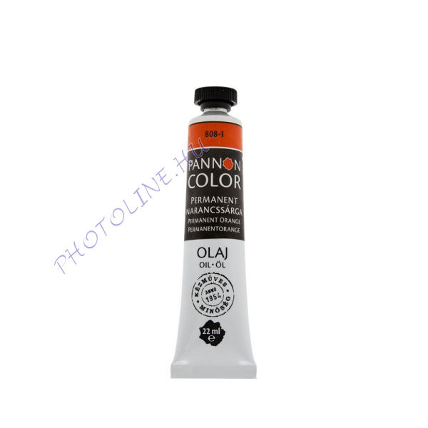 Pannoncolor olajfesték PERMANENT NARANCS 22ml