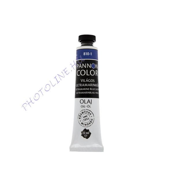 Pannoncolor olajfesték VILÁGOS ULTRAMARINKÉK 22ml