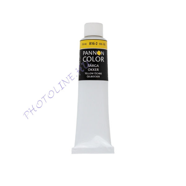 Pannoncolor olajfesték SÁRGA OKKER 200ml