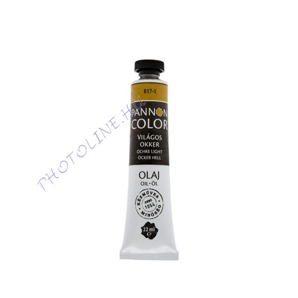 Pannoncolor olajfesték VILÁGOS OKKER 22ml