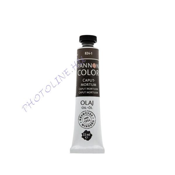 Pannoncolor olajfesték CAPUTMORTUM 22ml