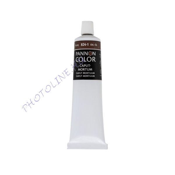 Pannoncolor olajfesték CAPUTMORTUM 200ml