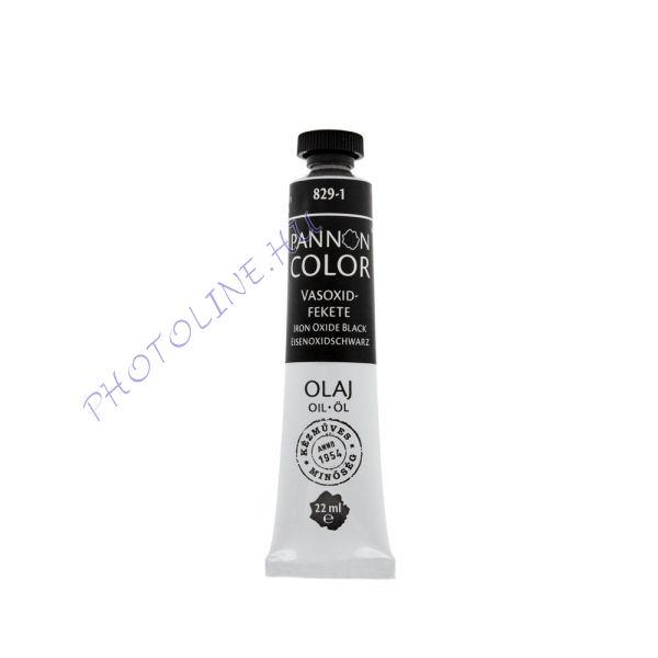 Pannoncolor olajfesték VASOXIDFEKETE 22ml