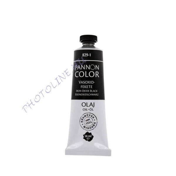 Pannoncolor olajfesték VASOXIDFEKETE 38ml