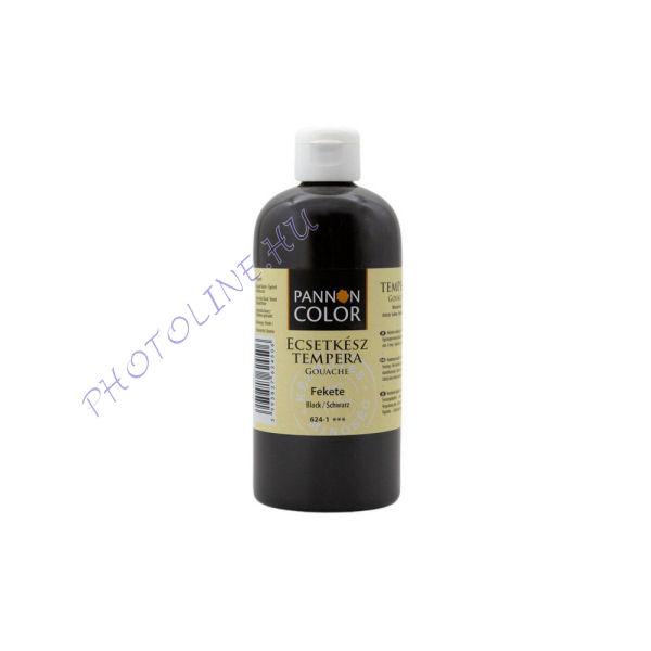 Művésztempera FEKETE (vasoxid) 500ml ecsetkész