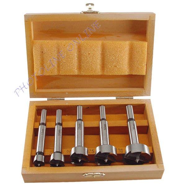 Pánthelymaró készlet, 5db-os, fadobozban 15, 20, 25, 30, 35mm (44015)