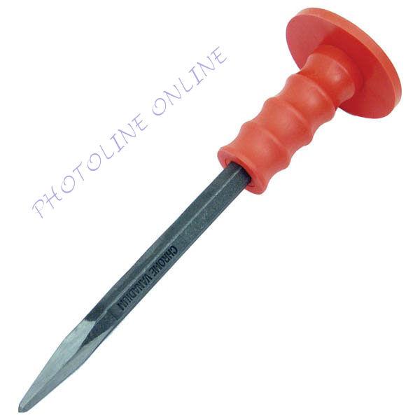 Spiccvéső, CV., erős műanyag kézvédővel, 300mm