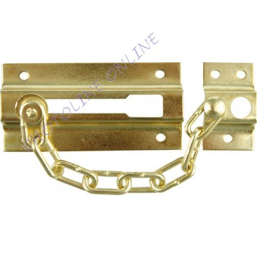 Biztonsági lánc ajtóra, 85 + 25 mm széles