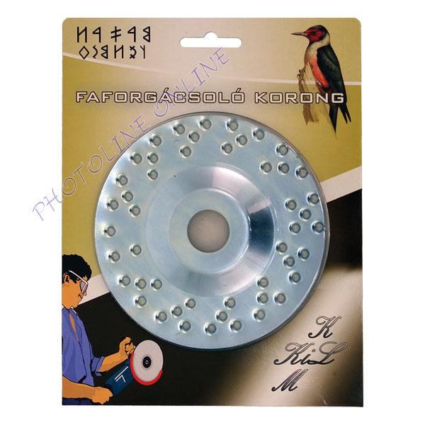 Faforgácsoló korong sarokcsiszolóra max 12200 ford/perc, fém, 125mm (84650)