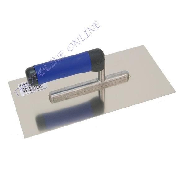 Glettelőkanál rozsdamentes, SOFT gumi nyél 13×27cm