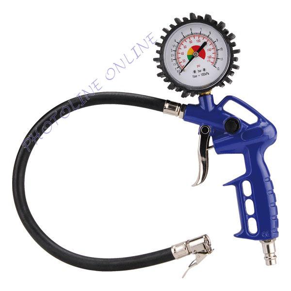 Gumiabroncs felfújó pisztoly légkompresszorhoz, 3-6 Bar (99312)