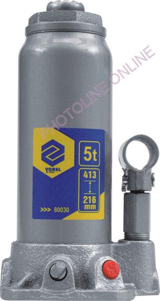 Hidraulikus emelő 5T, 355 mm-ig