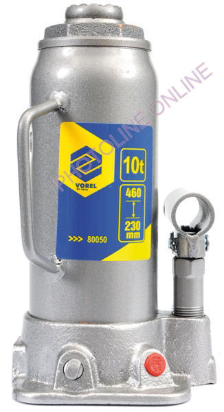Hidraulikus emelő 10T, 375 mm-ig