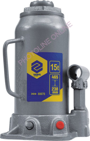 Hidraulikus emelő 15T, 390 mm-ig