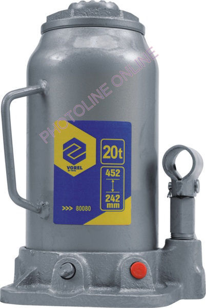 Hidraulikus emelő 20T, 402 mm-ig
