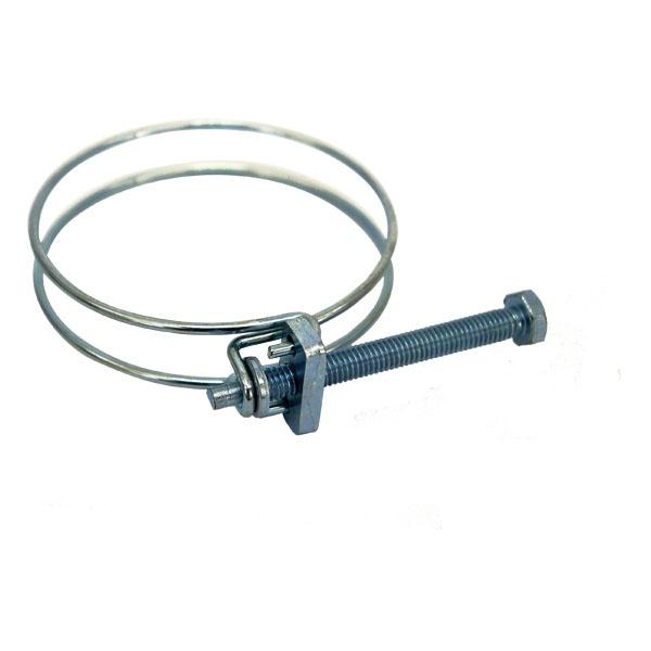 Dupla drótbilincs, 84-90mm, állítható, 3\