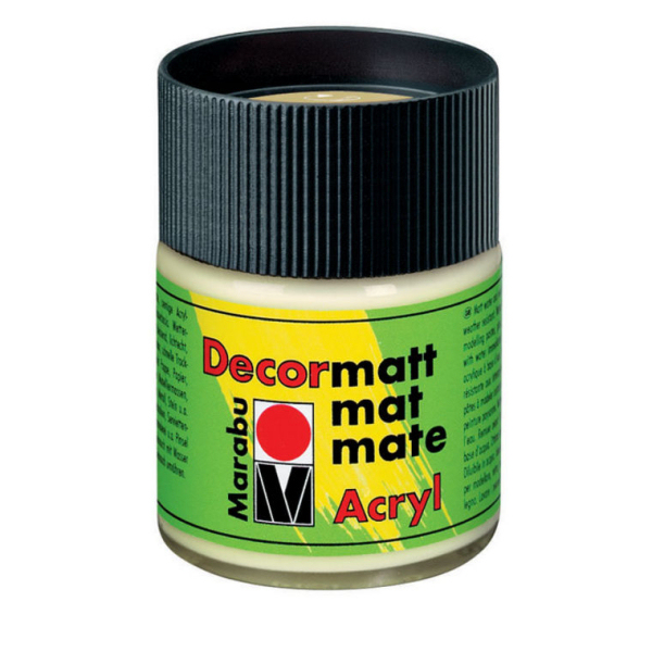 Decormatt akril festék NEDVZÖLD 50ml