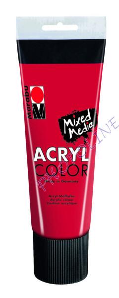 Basic Acryl festék CSERESZNYE PIROS 225ml