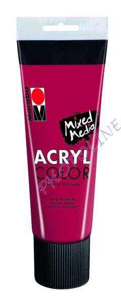 Basic Acryl festék KÁRMIN PIROS 225ml