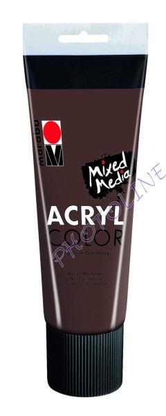 Basic Acryl festék KÖZÉPBARNA 225ml