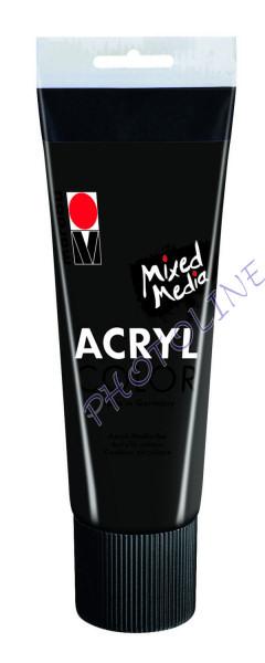 Basic Acryl festék FEKETE 225ml