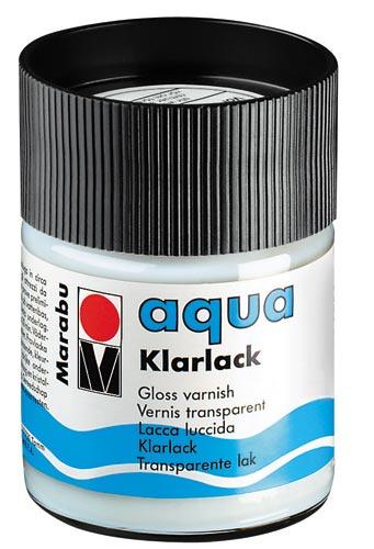 Marabu vizes lakk, fényes 50ml varnish lack