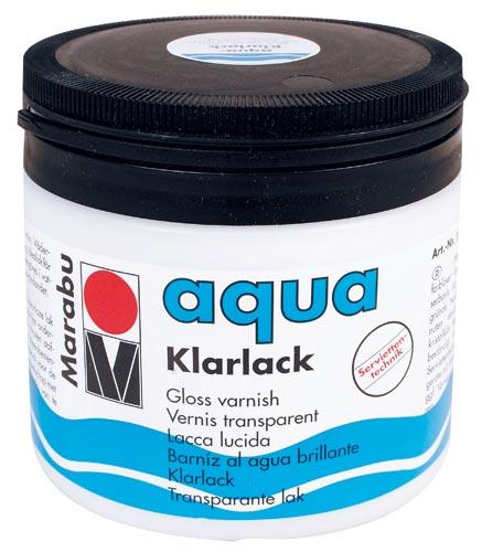 Marabu vizes varnish lakk fényes 500ml
