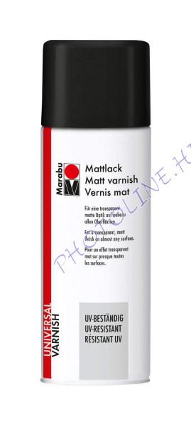 Marabu varnish lakk spray MATT 400ml (UV álló)
