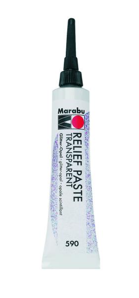 Marabu Relief paszta glitter OPÁL 20ml