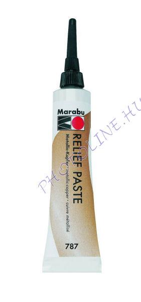 Marabu Relief paszta METÁL RÉZ 20ml