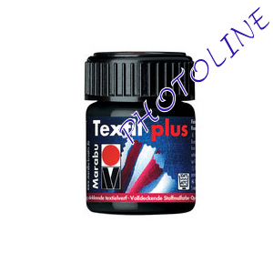 Marabu Textil Plus FEKETE 15ml