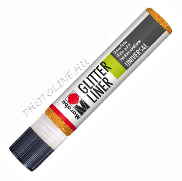 Glitteres Liner MANDARIN 25ml