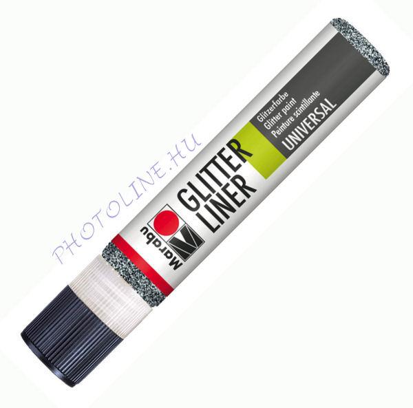 Glitteres Liner GRAFIT 25ml