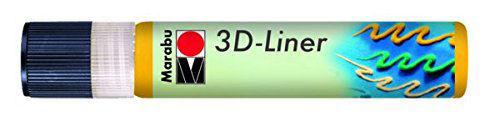 3D Effekt Liner KÖZÉPSÁRGA 25ml