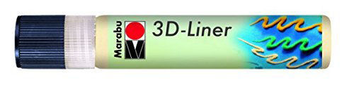 3D Effekt Liner PASZTELL SÁRGA 25ml