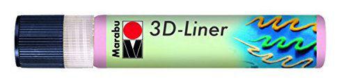 3D Effekt Liner PASZTELL RÓZSA 25ml