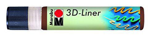 3D Effekt Liner KÖZÉPBARNA 25ml