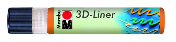 3D Effekt Liner FEKETE 25ml