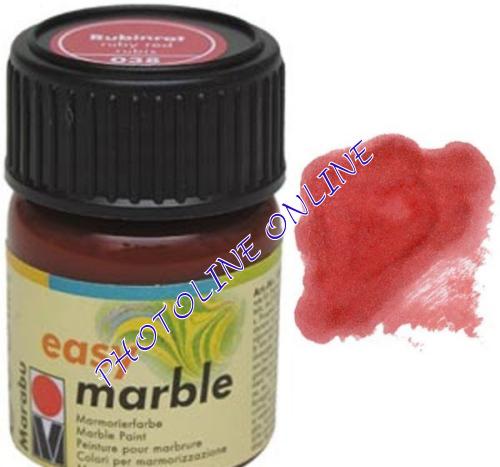 Easy Marble márványozó festék RUBINTVÖRÖS 15ml