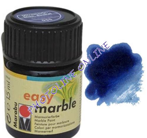 Easy Marble márványozó festék SÖTÉT ULTRAMARINKÉK 15ml
