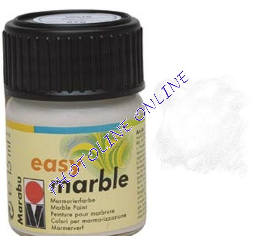 Easy Marble márványozó festék FEHÉR 15ml