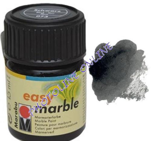 Easy Marble márványozó festék FEKETE 15ml